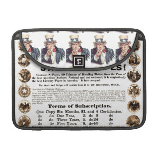 Philadelphia Weekly 1918 Stars & Stripes Newspaper Sleeve For MacBook Pro