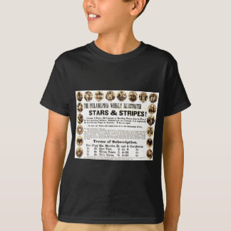 Philadelphia Weekly 1918 Stars & Stripes Newspaper T-Shirt