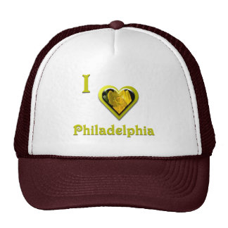 Philadelphia -- with Yellow Flower Trucker Hat