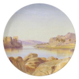 Philae, Egypt, 1863 (oil on canvas) Plate
