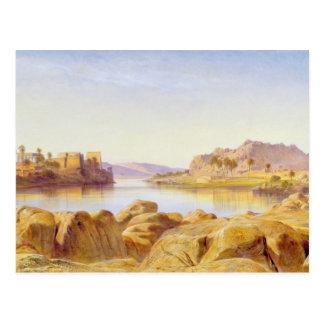 Philae, Egypt, 1863 (oil on canvas) Postcard