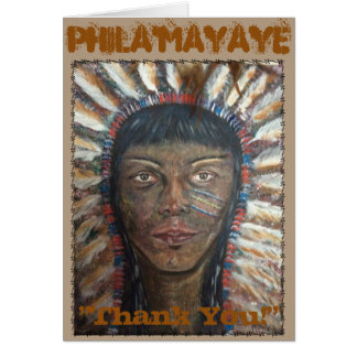 Phila'mayaye Thank You ! Greeting Card