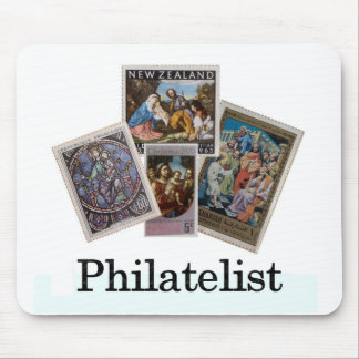 Philatelist 2 mouse pad