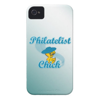 Philatelist Chick 3 iPhone 4 Cover