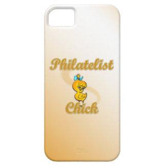 Philatelist Chick iPhone 5 Cases