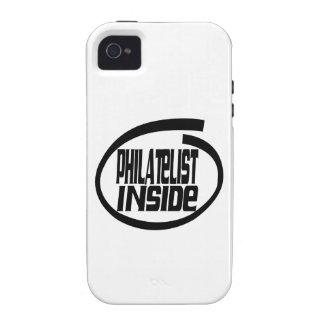 Philatelist Inside Case-Mate iPhone 4 Case