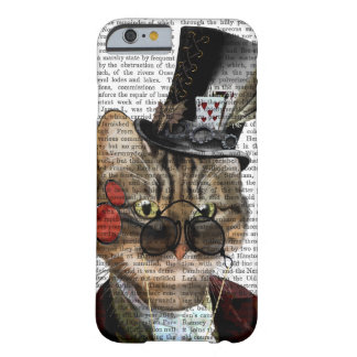 Phileas Feline Steampunk Cat & Top Hat 2 Barely There iPhone 6 Case
