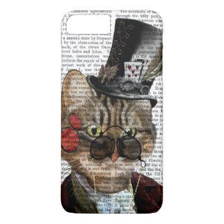 Phileas Feline Steampunk Cat & Top Hat 2 iPhone 8 Plus/7 Plus Case