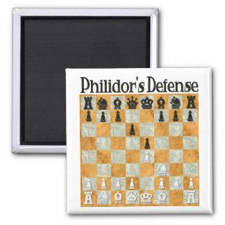 Philidor's Defense Magnet