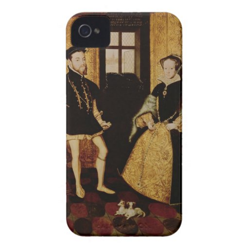 Philip II and Mary I, 1558 Case-Mate iPhone 4 Case