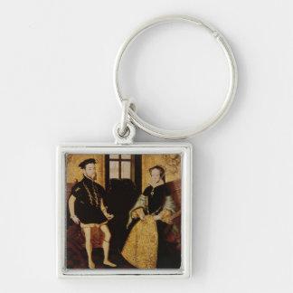 Philip II and Mary I 1558 Key Chains