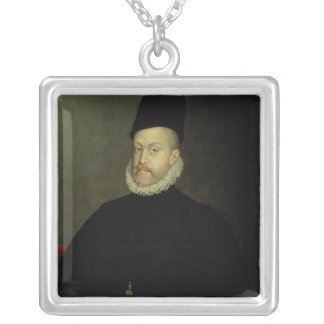 Philip II of Spain  1565 Silver Plated Necklace