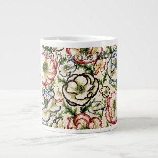 Philip Jacobs Fabric Banded Poppy Mug