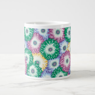 Philip Jacobs Fabric Floating Chrysanthemums Mug