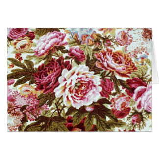 Philip Jacobs Fabric Floral Burst Card