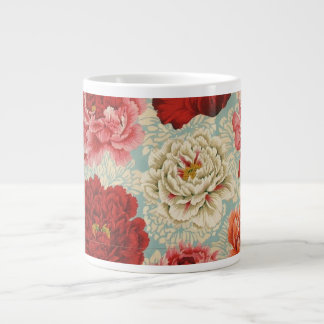 Philip Jacobs Fabric Large Brocade Peony Mug