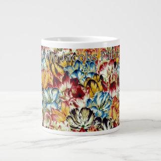 "Philip Jacobs Fabric Large ""Tulip Mania"" Mug"