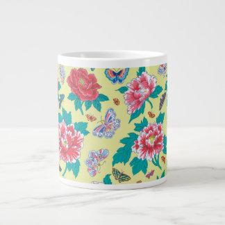 Philip Jacobs Fabric Peonies and Butterflies Mug