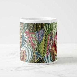 Philip Jacobs Fabric Variegated Leaves Mug