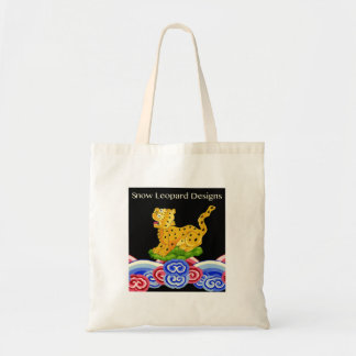 Philip Jacobs Snow Leopard Designs Tote Bag