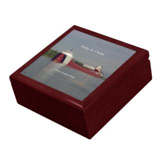 Philip R. Clarke keepsake box