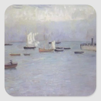 Philip Wilson Steer- Poole Harbour Square Stickers