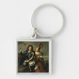 Philippe II d'Orleans  the Regent of France Key Ring