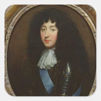 Philippe of France  Duke of Orleans Square Sticker