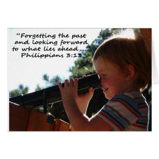"""Philippians 3:13""  by Carter L. Shepard Card"