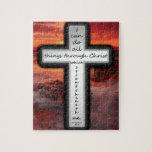 Philippians 4:13 jigsaw puzzles