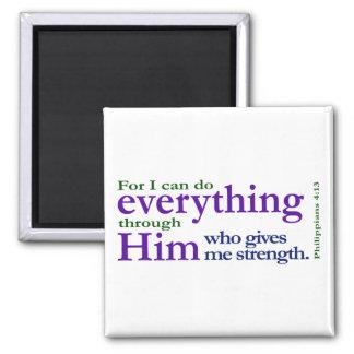 Philippians 4:13 magnets