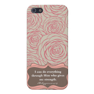 Philippians 4:13   Modern I-Phone case iPhone 5 Case