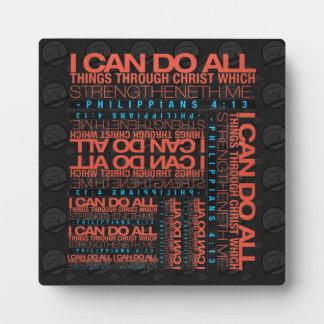 Philippians 4:13 Plaque