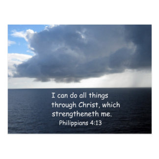 Philippians 4:13 post card