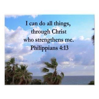 PHILIPPIANS 4:13 PRAYER PHOTO ART