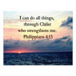 PHILIPPIANS 4:13 SUNRISE DESIGN PHOTO PRINT