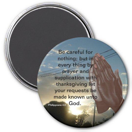 Philippians 4;6 Magnet