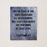 Philippians 4:7 Bible Verse Puzzle