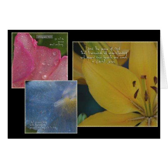 Philippians Floral Card