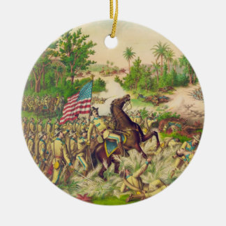 Philippine American War Battle of Quingua 1899 Christmas Tree Ornaments