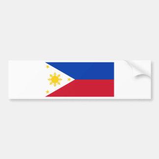 Philippine Flag Bumper Sticker