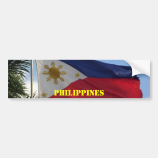 Philippine Flag, Bumper Sticker