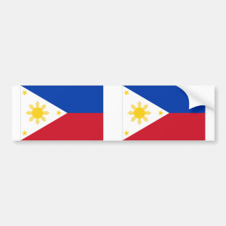 Philippine Flag Bumper Sticker