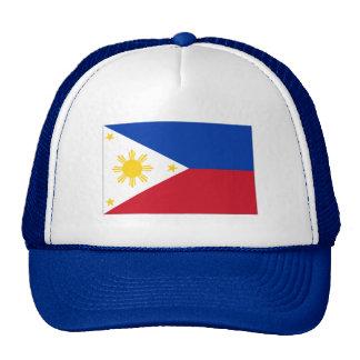 Philippine flag mesh hats