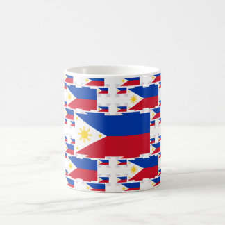 Philippine Flag in Multiple Colorful Layers 2 Coffee Mug
