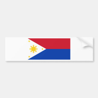 Philippine Flag | Philippine Islands | Pinoy Flag Bumper Sticker