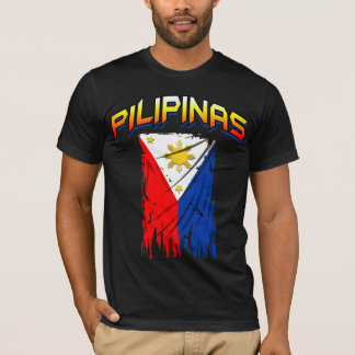 philippine flag ( pilipinas ) tee