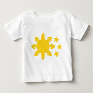 Philippine Flag - Proud to be Pinoy! Baby T-Shirt
