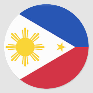Philippine Flag - Round Sticker