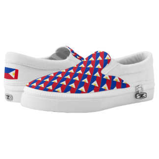 Philippine Flag Shoes Printed Shoes